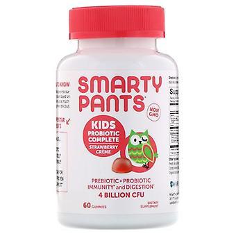 SmartyPants Kids Probiotic, Strawberry Cream 60 Count