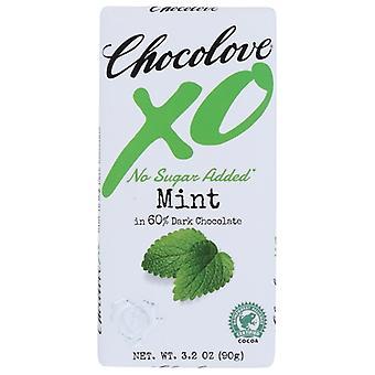 Chocolove Bar Xo Dark Choc Mint, Case of 12 X 3.2 Oz