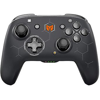 Wireless Controller for Switch, Switch Pro Wireless Controller supports Dual Vibration, Turbo, 6-Axis Gyro, Macro Compatible with Switch / Switch Lite / Windows 10 / Android Black(black)