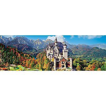 Clementoni Neuschwanstein Panorama Korkealaatuinen palapeli (1000 kappaletta)