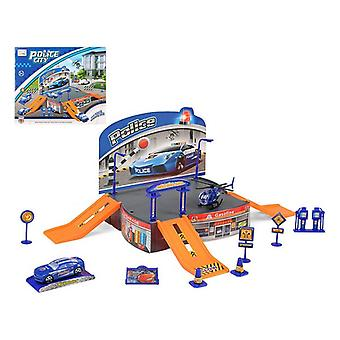 Track with Ramps Police 113531 Blue