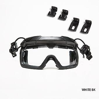 نظارات السلامة لخوذة التكتيكية واقية مكافحة الضباب نظارات