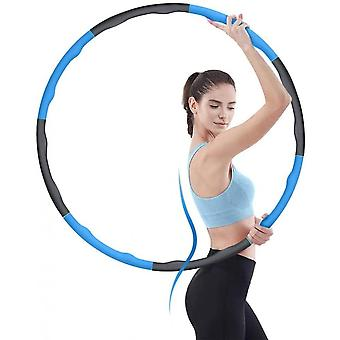 Hula Hoops For Adults And Kids Weight Loss And Massage,8 Section Adjustable Fat Burning Healthy Sports Life Home Workout For Woman And Man