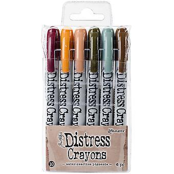 Tim Holtz Distress Crayon Set - Ensemble #10