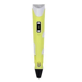 Ruyage 3d pen diy 3d printer pen tekenen pennen 3d afdrukken beste voor kinderen met abs filament 1.75mm