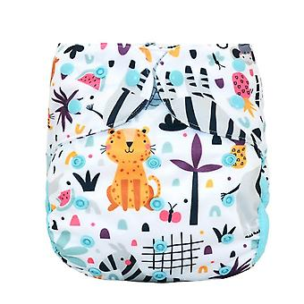 Cloth Diaper Cover For Baby, Stay-dry Diaper Washable Cloth Nappy