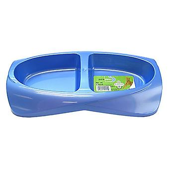 Van Ness Lightweight Double Diner Dish - Small - 20 oz Total