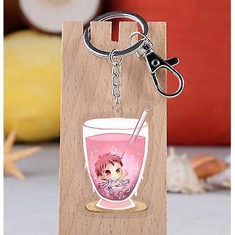 Geen basketbal acryl sleutelhanger speelgoed figuur Kuroko Tetsuya tas hanger sleutelhanger geschenken| Actiecijfers
