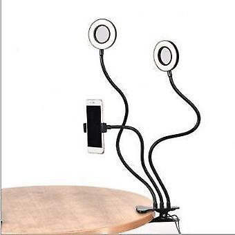 Double Lamp Head Live Broadcast Dedicated Led Fill Light Usb Anchor Selfie Beauty Light