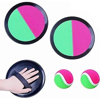 Vonkajšie rodič-dieťa Interaktívne deti Sucker Sticky Ball Toy Game Set