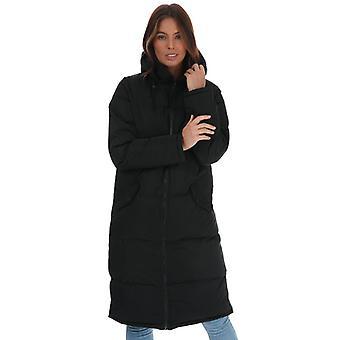 Mujer Brave Soul Cello Maxi Length Chaqueta acolchada en negro
