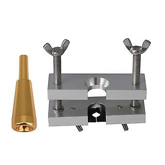 Embout buccal de taille 1.5C avec dissolvant d'embout buccal pour instruments à vent en laiton