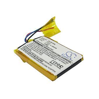 Battery for Philips GoGear Flash Audio Player SA3115 SA3125 SA3125/37 SA3137