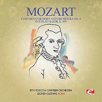 Mozart - Concert voor hoorn & orkest No. 4 in es Majo USA import