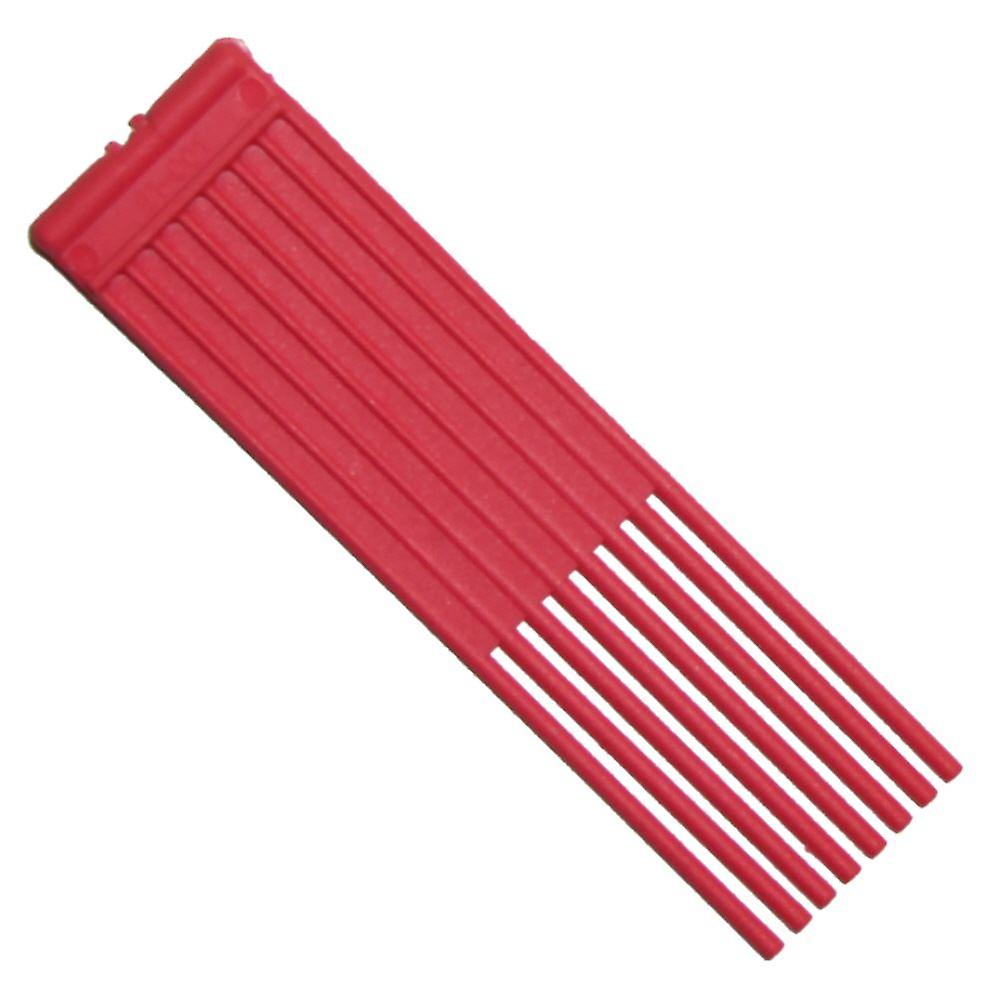 Pack Of 2 Red Brushes Fits Westwood Countax Power Sweeper