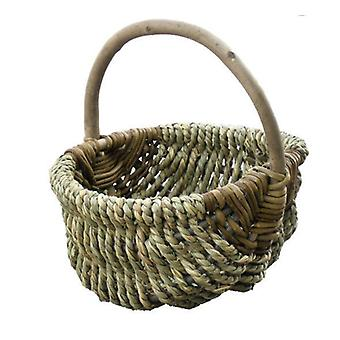 Large Millie Sea Grass Shopping Basket
