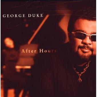 George Duke - importação EUA após horas [CD]
