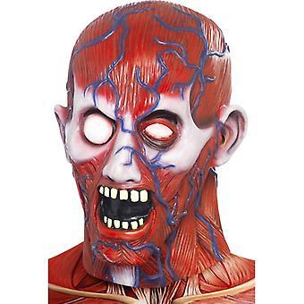 Anatomie Manova maska tělo Hagen Skalped hrůzou