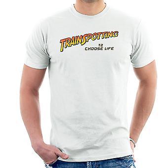Trainspotting T2 vælge liv Indiana Jones mænd T-Shirt