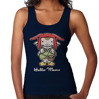 Hello Meow Space Dandy Kitty Women's Vest