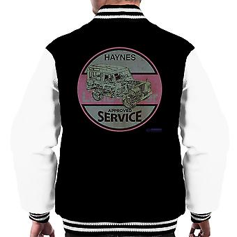 Haynes Land Rover Approved Service Men's Varsity Jacket