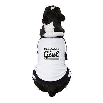 عيد ميلاد فتاة لعيد ميلاد الحيوانات الأليفة هدايا مضحك الرسم الأليفة المحملة القميص