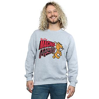 Tom And Jerry Men's Macho Mouse Sweatshirt