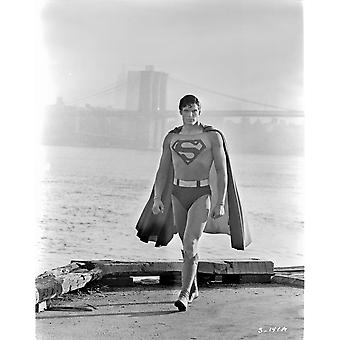 A Scene From Superman Photo Print