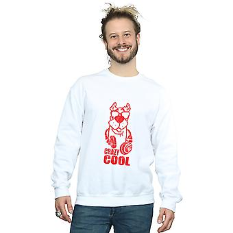 Crazy Cool sweat-shirt Scooby Doo masculine