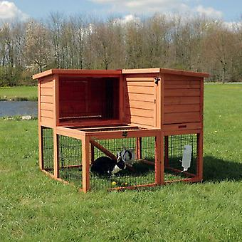 Trixie Natura hutch, 2 Flats Brown (Small pets , Cages and Parks)