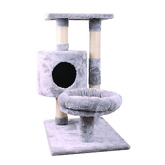 Freedog City Cat plat (chats, jouets, grattage messages)
