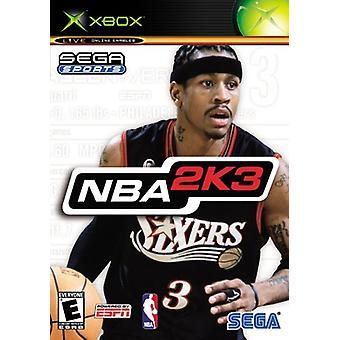 NBA 2K3 (Xbox) - New