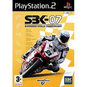 SBK 07 (PS2) - Nieuwe fabriek verzegeld