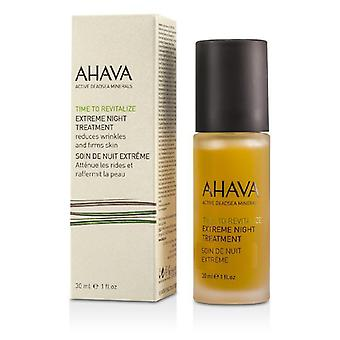 Ahava Time To Revitalize Extreme Night Treatment - 30ml/1oz