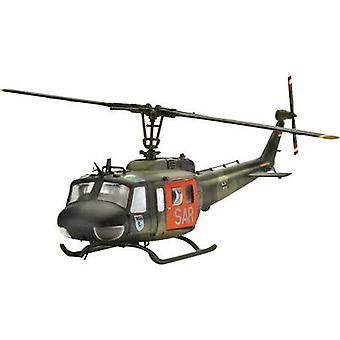 Revell 04444 Bell UH-1D SAR Helicopter assembly kit 1:72