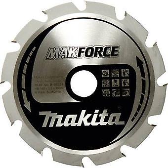 Hardmetaal cirkelzaag metal blade 190 x 30 x 1.4 mm aantal tanden: 12 Makita MAKFORCE-B-32144 1 PC('s)