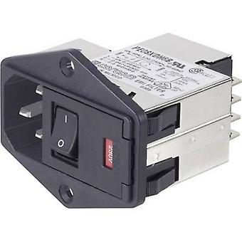 TE conectividad PS0S0DS6B = C1185 filtro + interruptor + 2 fusibles + IEC toma 250 V AC 6 1 PC