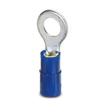 Phoenix kontakt 3240023 Ring terminal tverrsnitt (maks.) = 2,50 mm² hull Ø = 4.3 mm delvis isolert blå 100 eller flere PCer