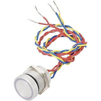 APEM PBARZAFB000G2A Piezo painike 24 V DC/AC 0,2 1 x Off/(On) IP69K hetkellinen 1 PCs()