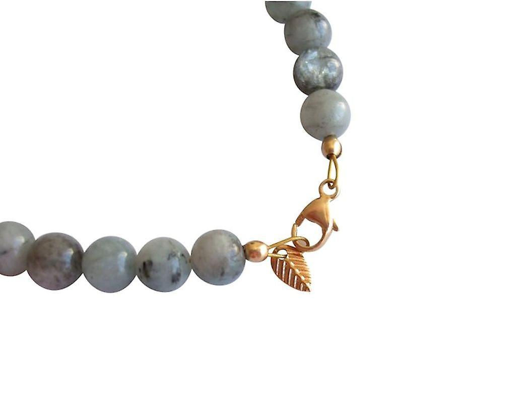 Liefern Fantastisk pris Gemshine - Damen - Armband - Aquamarin - Blau - Vergoldet - 6 mm wpGlE