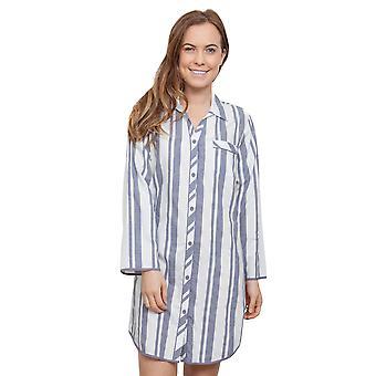 Cyberjammies 3865 kobiet Fifi szary pasiasty snu koszula Koszulka nocna Koszula nocna