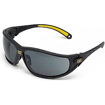 Caterpillar Mens Dozer Protective Workwear Safety Glasses Light Blue