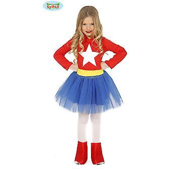 Kinder's Kostüme Kinder Super Heldin Kostüm für Mädchen