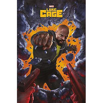 Marvel's Luke Cage poster wall break 91.5 x 61 cm