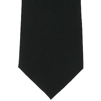 Michelsons af London almindelig silke slips - sort