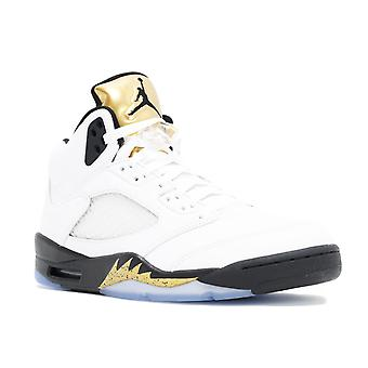 الهواء الأردن 5 الرجعية 'الميدالية الذهبية--' أحذية 136027-133-