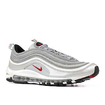 Nike Men's Air Max 97 OG QS 'Silver Bullet' SilverBlackRed 884421 001