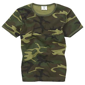 Barnen nya bekämpa militär oss armén stil T-Shirt
