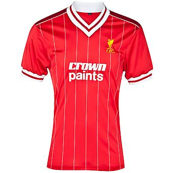 Score Draw Liverpool 1982 Home Shirt