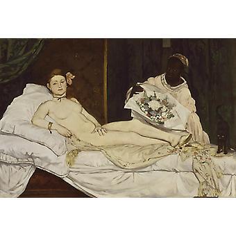 Olympia,Edouard Manet,60x40cm